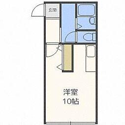 ソシアルトミイNo.8[3階]の間取り