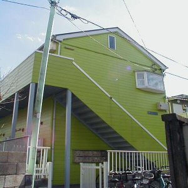 東京都府中市宮町2丁目の賃貸アパート