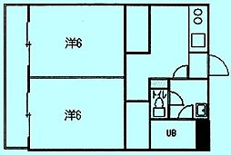 フォートクリオM[4階]の間取り