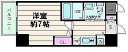 大阪府大阪市淀川区十八条1丁目の賃貸マンションの間取り
