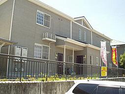 和歌山県海南市小野田の賃貸アパートの外観