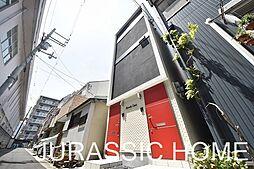 大阪府堺市堺区甲斐町西3丁の賃貸アパートの外観