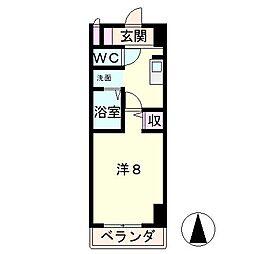 グレースフル18[3階]の間取り
