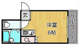 Mebius Kouri Residence - メビウスコ[3階]の間取り