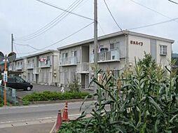 松本ハイツE棟[2階]の外観