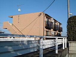 栃木県宇都宮市関堀町の賃貸マンションの外観