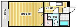 メモリアル空港東[305号室]の間取り