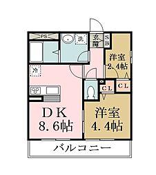 リブリ・KASUGA[301号室]の間取り