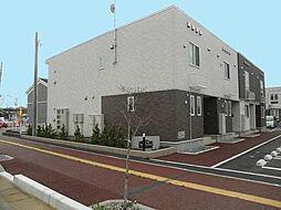 新潟県阿賀野市若葉町の賃貸アパートの外観