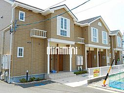 静岡県静岡市清水区三保の賃貸アパートの外観