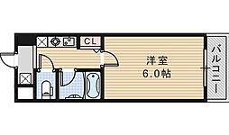 エスポワール昭和町[601号室]の間取り