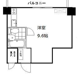 万代ファーストハイツ[11階]の間取り