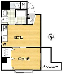 EKOパレス[4階]の間取り