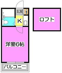 LH宮戸[2階]の間取り