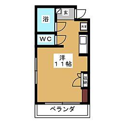 ハイツA&K[3階]の間取り