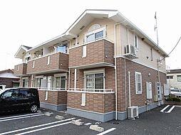 埼玉県入間市扇台6丁目の賃貸アパートの外観