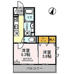 グレイスハウスII[2階]の間取り