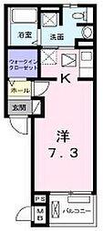 グラディート[2階]の間取り