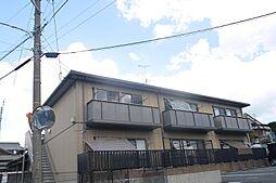 福岡県春日市下白水北7の賃貸アパートの外観