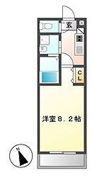 アップルコート本郷[5階]の間取り