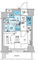 神奈川県横浜市南区睦町1丁目の賃貸マンションの間取り