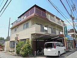 愛媛県松山市拓川町の賃貸アパートの外観