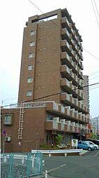 北海道札幌市豊平区水車町2丁目の賃貸マンションの外観