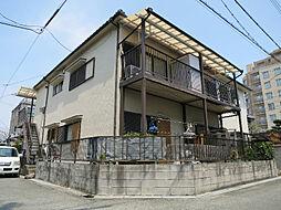 大阪府茨木市中津町の賃貸アパートの外観