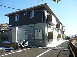 千葉県野田市上花輪の賃貸アパートの外観
