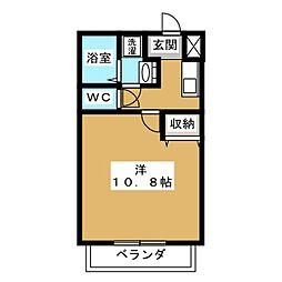 ノースウェーブTAMASAKU[2階]の間取り