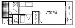 K&Sレジデンス[4階]の間取り