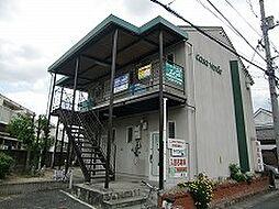 岡山県岡山市中区西川原1丁目の賃貸アパートの外観