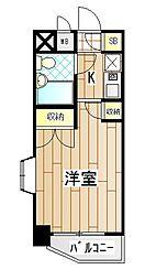神奈川県海老名市国分北1丁目の賃貸マンションの間取り