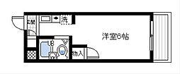 オリーブ泉佐野[2階]の間取り