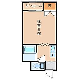 サンライトT[2階]の間取り