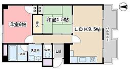 DOLCE NAGITSUJI[311号室]の間取り