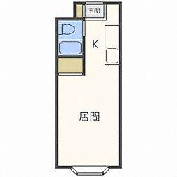 ノース15[4階]の間取り