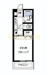 カーサオカIII[3階]の間取り
