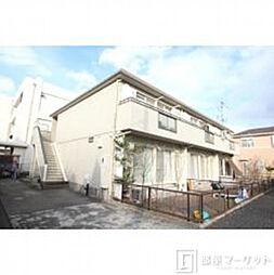 愛知県岡崎市筒針町字元流の賃貸アパートの外観