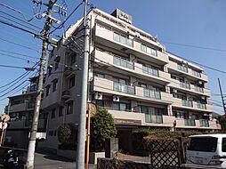 東京都日野市大坂上4丁目の賃貸アパートの外観