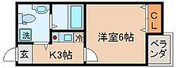 兵庫県神戸市長田区本庄町4丁目の賃貸マンションの間取り