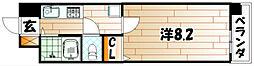 ウィングス片野I[3階]の間取り