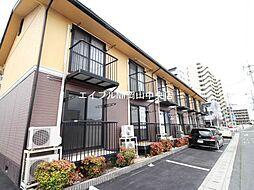 岡山県岡山市北区野田1丁目の賃貸アパートの外観