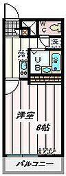 埼玉県さいたま市桜区上大久保の賃貸マンションの間取り