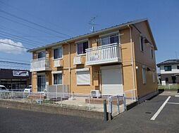 千葉県茂原市東部台2丁目の賃貸アパートの外観