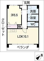 オリエント・コート[5階]の間取り