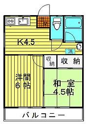 仙寿荘[202号号室]の外観