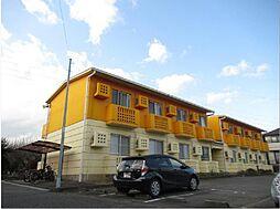 静岡県裾野市茶畑の賃貸マンションの外観