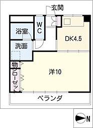 メゾン川崎[3階]の間取り