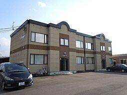 北海道旭川市永山二条14丁目の賃貸アパートの外観